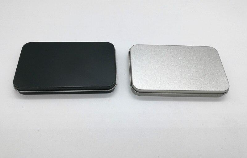 Size 106 64 13mm gift card tin box name card metal case cosmetic box cigaratte tin