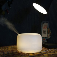 Aroma Diffuser Essential Oil Diffuser Ultrasonic Humidifier Aromatherapy LED Light Changeable Mist Maker 300ML EU Plug