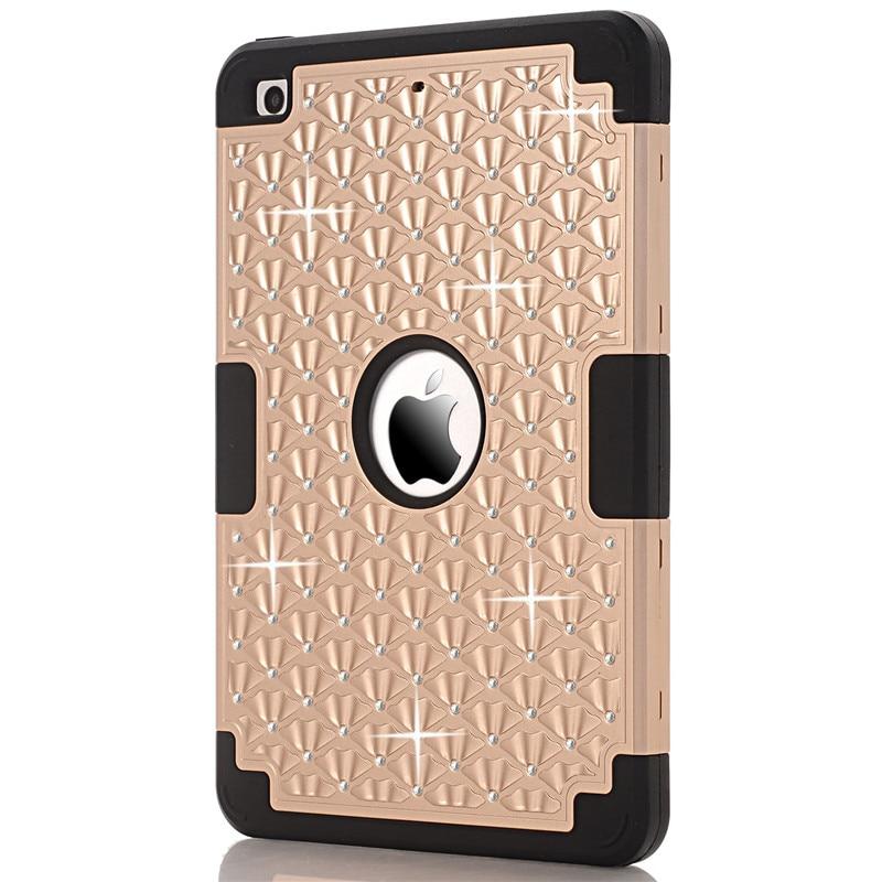 Coque iPad Mini Cover Case 2016 üçün rəngarəng hibrid zirehli - Planşet aksesuarları - Fotoqrafiya 2