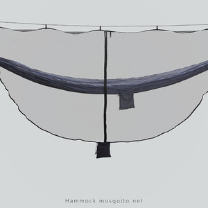 Image 3 - Fast Easy Setup Hammock Bug Net Fits ALL Camping Hammocks Compact  SECURITY From Bugs Mosquitoes Exclusive Polyester Mesh