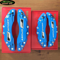 KUNBABY Blue Metal Disc Brake Caliper Covers Front And Rear Model 10 With F sport For Lexus Car Styling Car Accessories