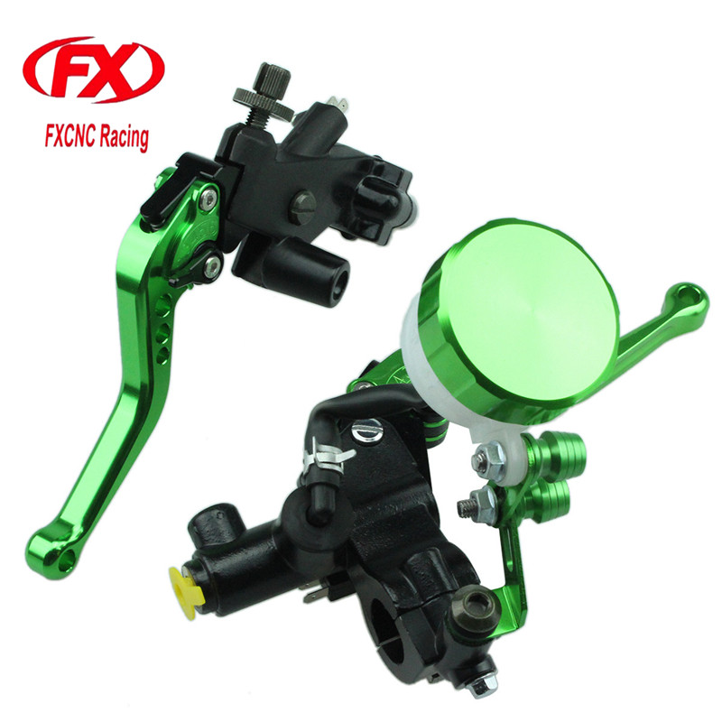 FX CNC 125-600cc Motorcycle Brake Clutch Levers Master Cylinder Hydraulic Brake Cable Clutch For Yamaha DT125X 2005 Motorcycles fxcnc universal stunt clutch easy pull cable system motorcycles motocross for yamaha yz250 125 yz80 yz450fx wr250f wr426f wr450