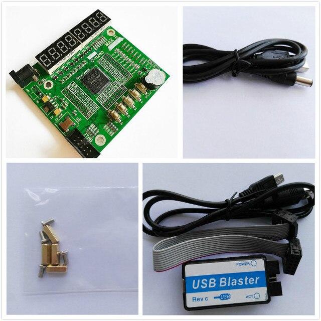 USB Blaster+ cpld development board cpld altera development  cpld board  EPM240T100C5N epm240 board  altera MAX  II epm240