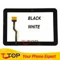 Черный Белый Для Samsung Galaxy Tab 8.9 P7300 Сенсорный Экран Digitizer Переднее Стекло Лен Замена Части 1 Шт./лот
