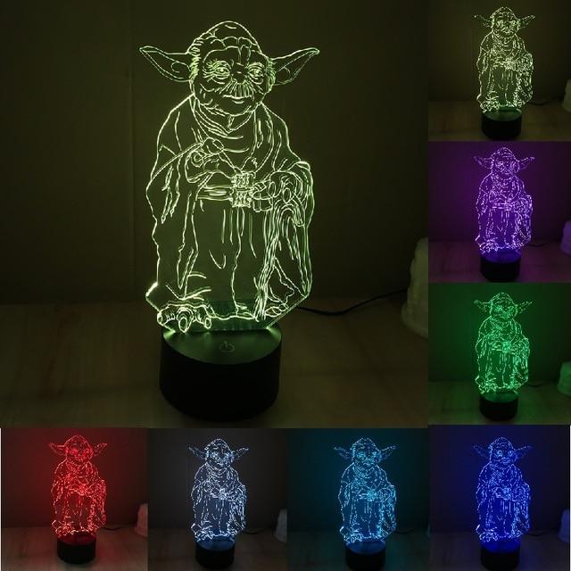 Star Wars Master Yoda Novelty LED Lamp Light