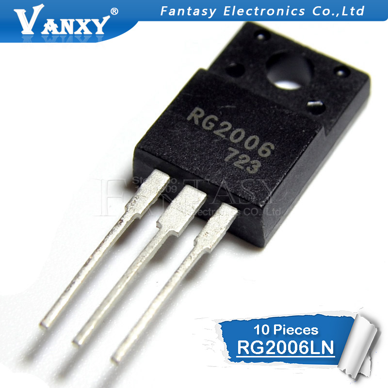 10pcs RG2006 TO-220F RG2006LN TO220 600V 20A New Original
