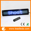 Blue LED sign Remote control and RS232 serial communication 12v scrolling message car led moving sign