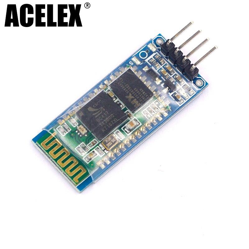 Free shipping! 10pcs HC06 HC-06 Wireless Serial 4 Pin <font><b>Bluetooth</b></font> RF Transceiver Module <font><b>RS232</b></font> TTL for Arduino <font><b>bluetooth</b></font> module