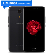 Umidigi Plus E Android Mobile Phone 5.5 inch Front Touch ID 6GB RAM 64GB ROM 4000Mah Battery Android 6.0 Cell Phone