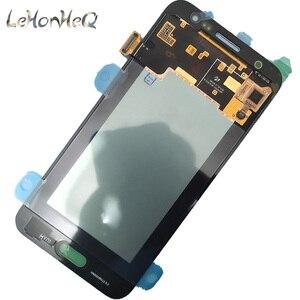 Image 3 - Test Süper Amoled Samsung Galaxy J5 2015 J500 J500F J500M Ekran dokunmatik ekranlı sayısallaştırıcı grup J500 LCD Değiştirme