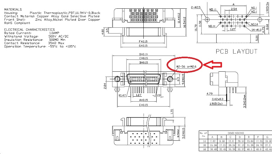 scsi wiring diagram 5pcs scsi connector hpcn type receptacles header 20 position right  5pcs scsi connector hpcn type