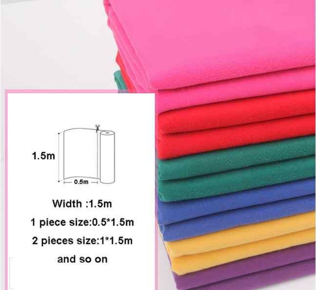 カシミヤコート生地1.5*0.5メートル厚い冬の模造ウール布両面ファッションソリッドカラーミシン用女性のドレススカート