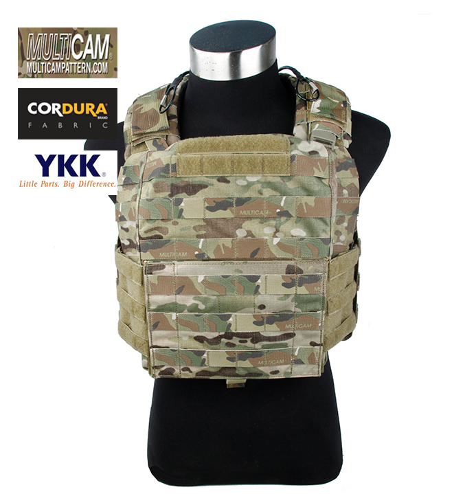 Tactical Military Genuine Multicam Cage Armor CAC Plate Carrier Vest+Free shipping(STG050981) emerson gear sniper waist pack genuine multicam 500d military tactical waist pack free shipping sku12050410