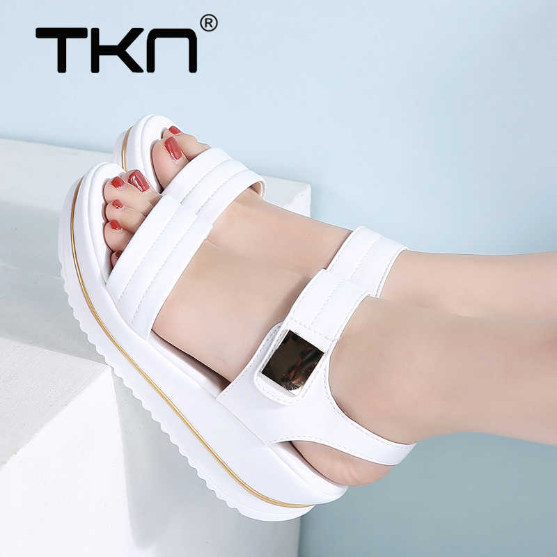 TKN 2019 Summer Women Platform Sandals