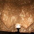 Popular criativo led planetário céu estrela celestial projetor diy lâmpada luz noite romântica decoração do partido novelty iluminação
