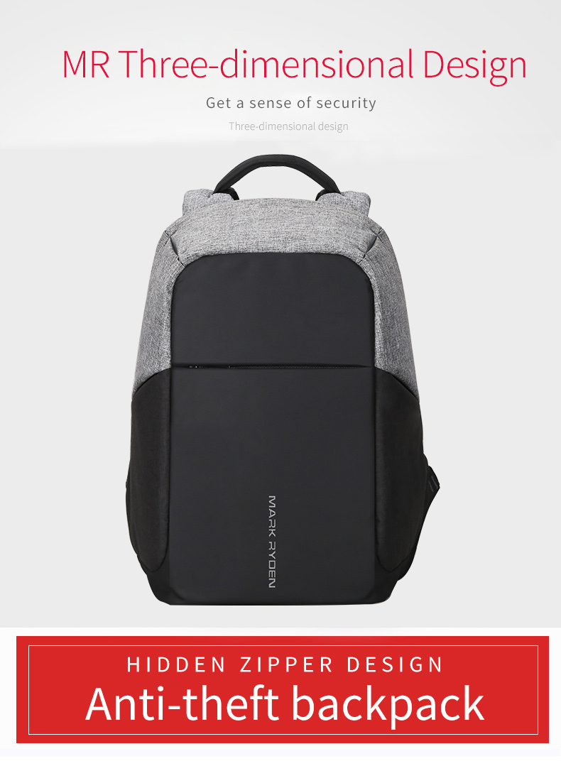 A Great bag for the new Millennial. Anti Theft USB Charging Backpack.