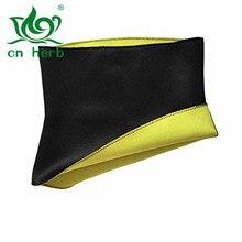 cn herb Hot Tummy Belt Waist Slimming Fitness Trimmer Girdle Sport Shirt Body Shaper free shipping