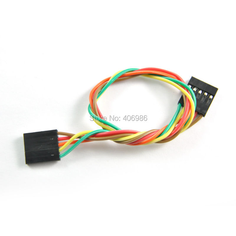 5PCS lot 5pin F F Jumper Wire 200mm Female to Female Dupont Cable for Arduino FZ0242