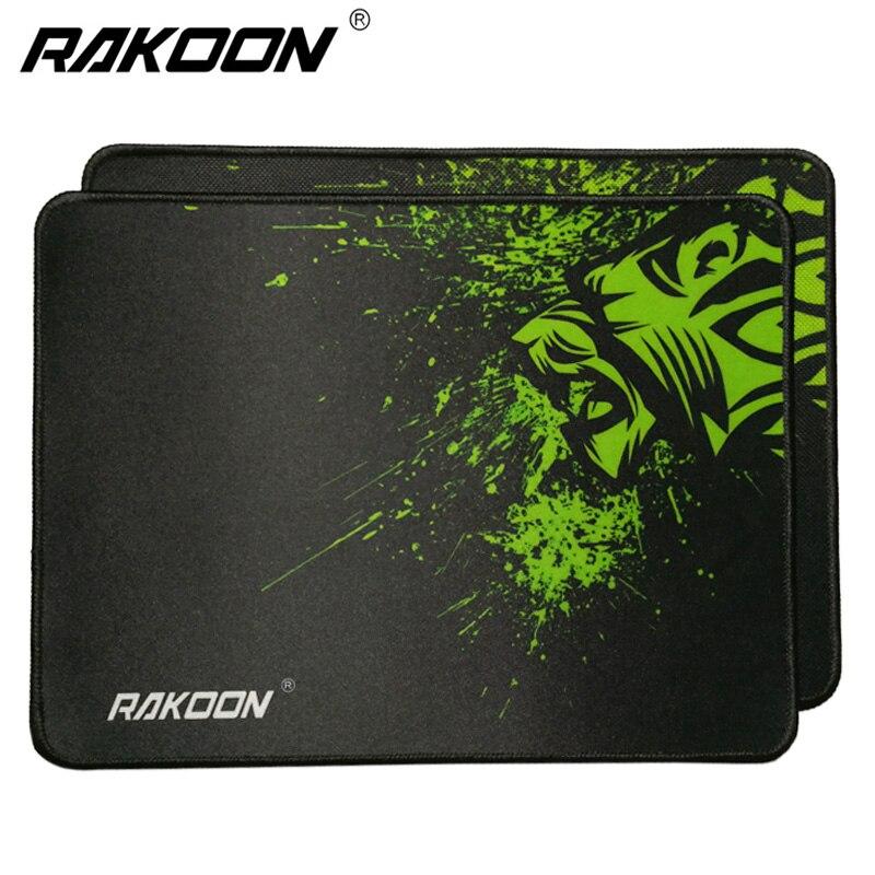 Rakoon font b Gaming b font Mouse Pads 32x24cm Antislip Speed Control Locking Edge Lion font