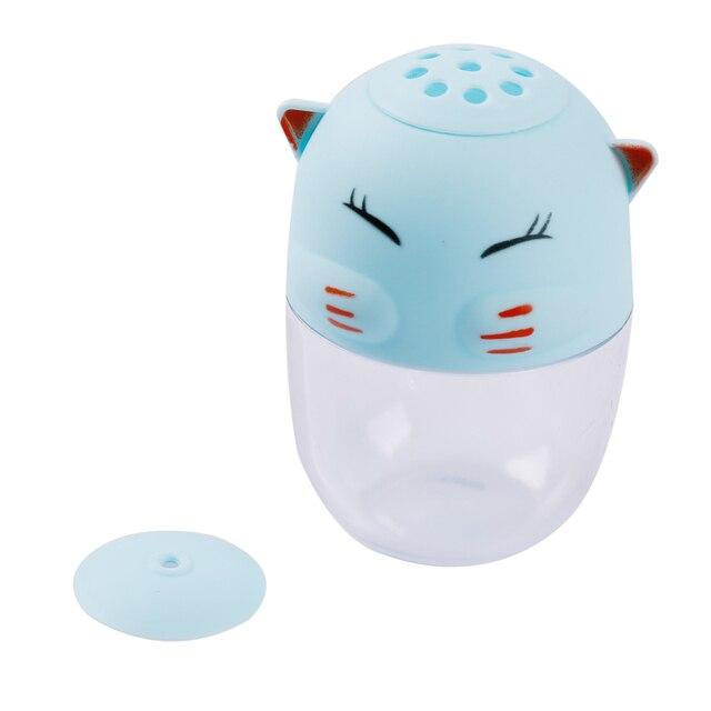 Nouveau! Mignon chat forme support pour cure-dents cuisine condiment conteneur sel poivre farine pot bouteille outils de cuisson.