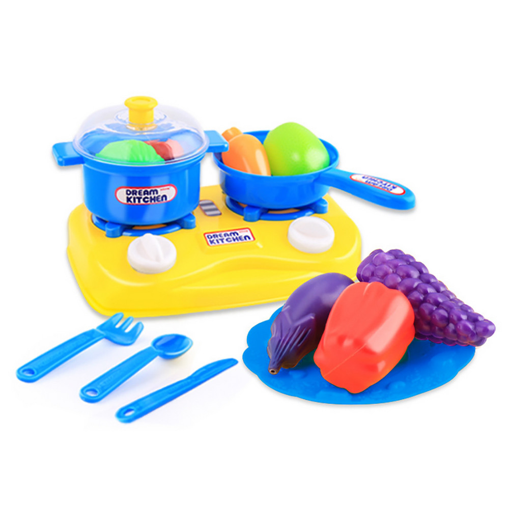 Good Fabulous 15pcs Plastic Kids Children Kitchen Utensils Food Cooking Pretend  Play Set Toy Learning Tools Gift For Kid In Kitchen Toys From Toys U0026  Hobbies On ...