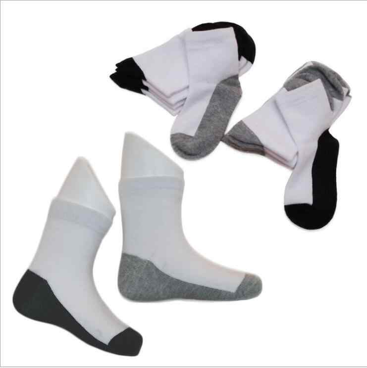 Prime Products 12 X Pairs of Girls /& Boys Unisex Childrens Kids Plain Cotton Mix Ankle Socks Back to School