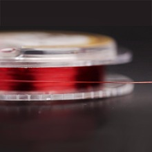 2016  Outdoor 50m number 0.8 1.0 Hot Sale Imported New Strong Power Super Braided Red Lines Imported Fishing Line Free Shipping