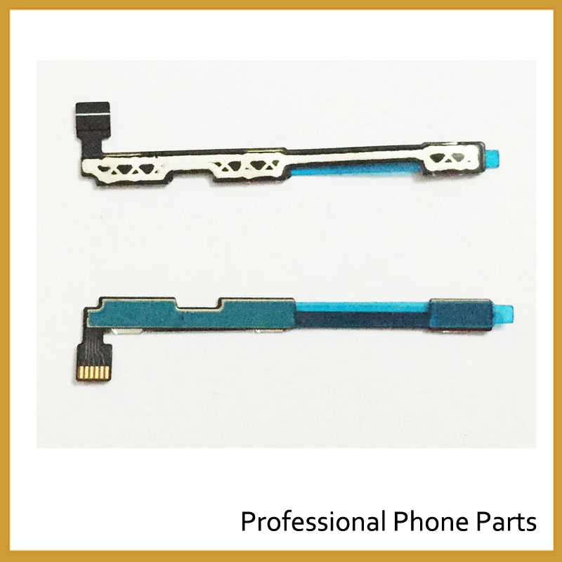 2 unids lote. Botón de volumen original Flex cable para Lenovo K4 nota K5  A6010 A7010 Power Flex piezas de repuesto b0247963be