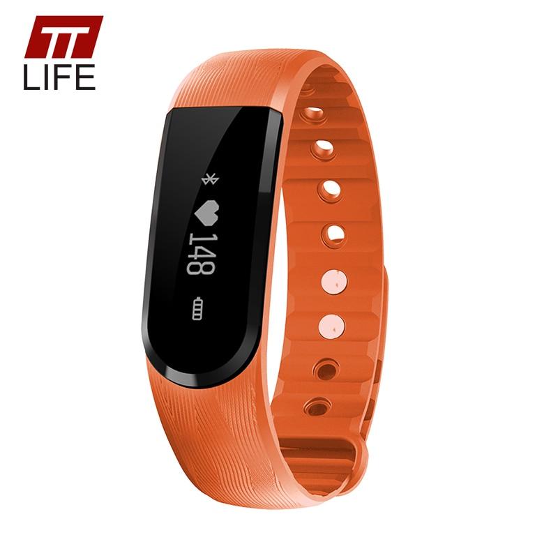 TTLIFE Men Women Pulse Heart Rate Monitor Sports Wristband Fitness Activity Monitor Smart Bracelet Lovers Watch