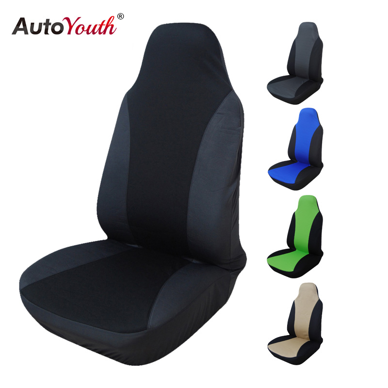 AUTOYOUTH 1PCS Classic Style Car Seat Cover Universal Fit Most Car Seats Interior Accessories Seat Covers 5 Colour Car Styling