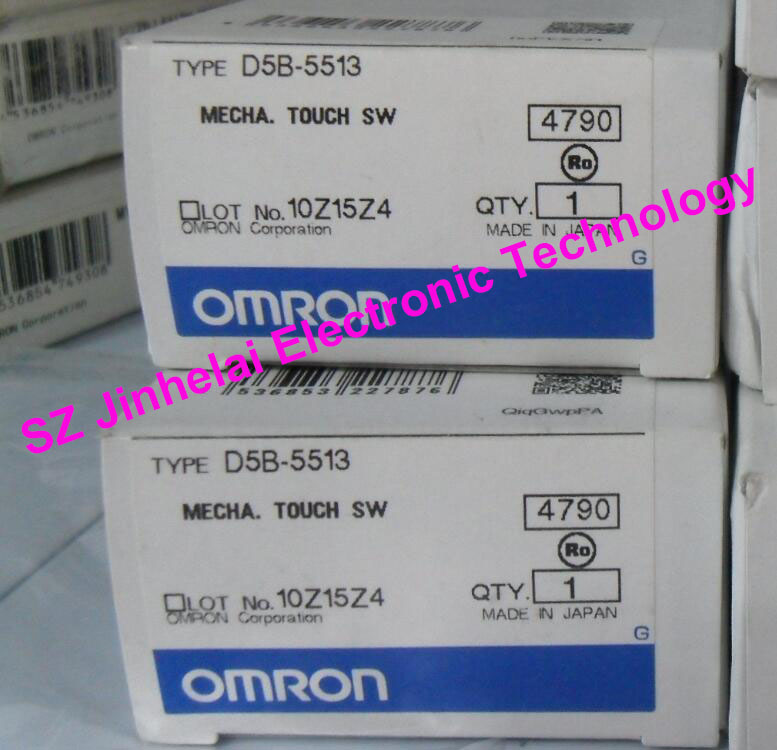 Authentic original OMRON MECHA.TOUCH SWITCH D5B-5513 водолазка playtoday