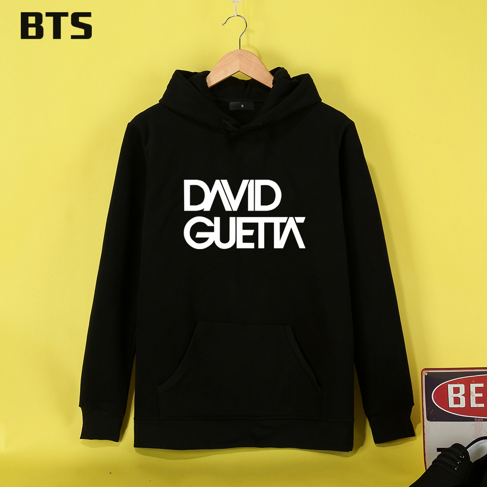 BTS David Guetta Funny Women Hoodies Sweatshirts Winter New European Style Streetwear Fashion Oversized Hoodies Ladies Tracksuit
