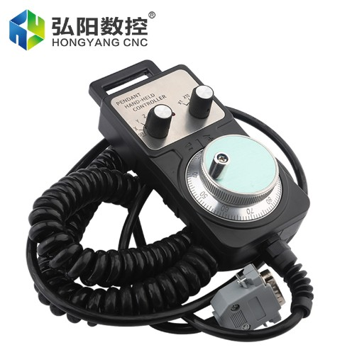 Engraving machine wired electronic handwheel CNC system pulse generator CNC machine CNC hand wheel 15 pin connector