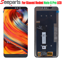 6.26For Xiaomi Redmi Note 6 Pro LCD Display + Touch Screen Digitizer Assembly Replacement Part For Xiaomi Redmi note6 Pro LCD