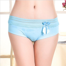 New Hot Cotton with Lace Side best quality Underwear Women sexy panties Casual Intimates female Briefs Cute Lingerie N889
