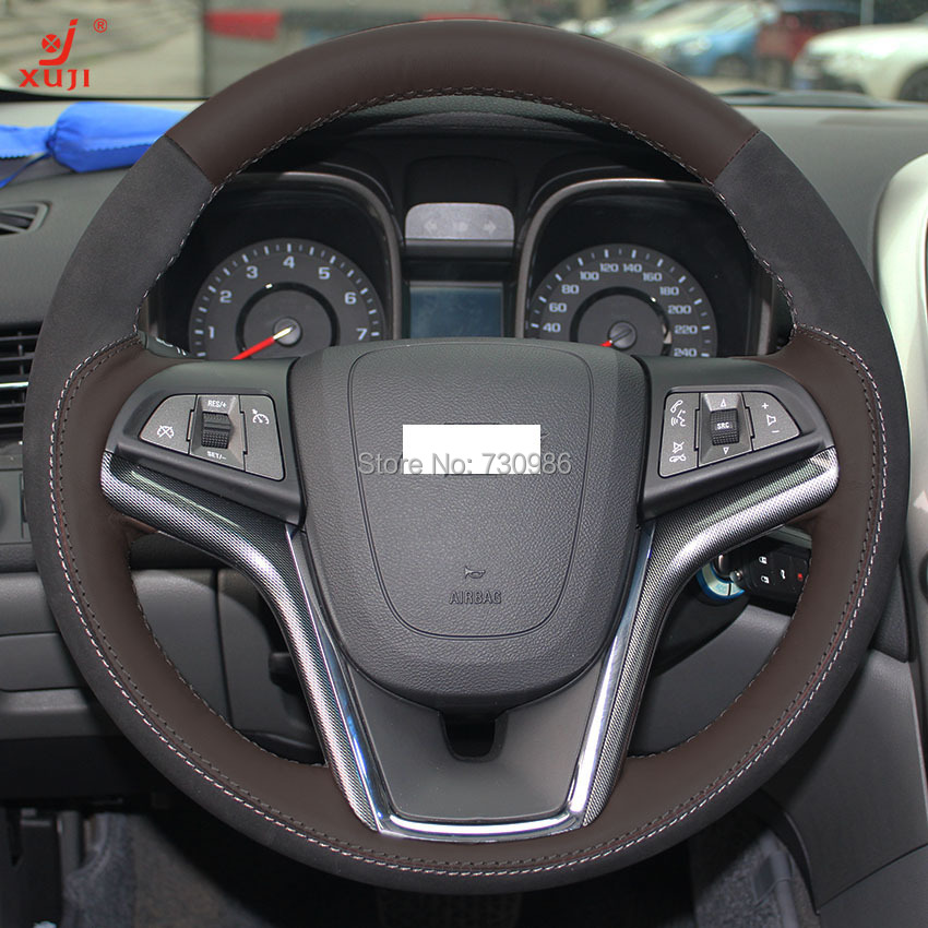 Chevrolet Malibu 2014 For Sale: Aliexpress.com : Buy Steering Wheel Cover For Chevrolet