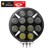 WINNING 9 inch Round LED Work Light for Driving Offroad Boat Car Tractor Truck 4x4 SUV ATV 12V 24V 120W