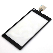 10pcs/lot New Touch Screen For Sony Xperia L S36H S36 C2105 C2104 With LCD Digitizer Black&White Free Shipping+Tracking