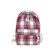 Strips Backpack Preppy Style School Backpack For teenage Girls Lightweight Canvas Leisure or Travel Bag for Women Shoulde Bag все цены