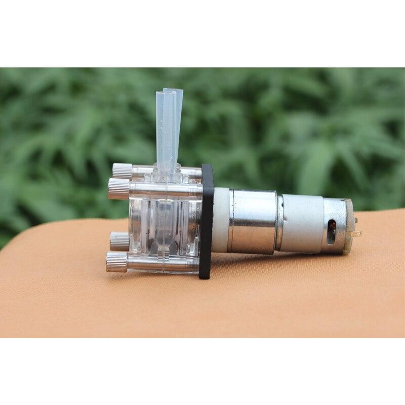 Pompe péristaltique à grand débit DC 12 v pompe doseuse pompe à vide anti-corrosion pompe d'aspiration forte laboratoire d'aquarium eau analytique