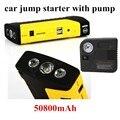 Car power bank перейти StarterJumper с насос Аварийного Пуска Portable 10000 мАч Power Pack Зарядное Устройство Источник Питания для Ноутбука
