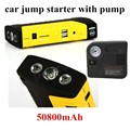 Car power bank jump StarterJumper with pump Emergency Start Portable 10000mAh Power Pack Charger Power Source for Laptop