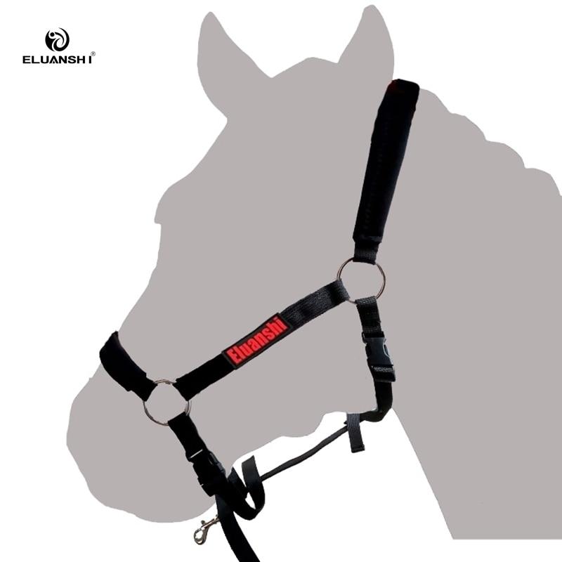 Black Perris Horse Nylon Lunge Caveson