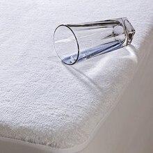 Livraison gratuite approvisionné USA 150 * 200 cm matelas imperméable protecteur hôpital accueil hôtel lit matelas