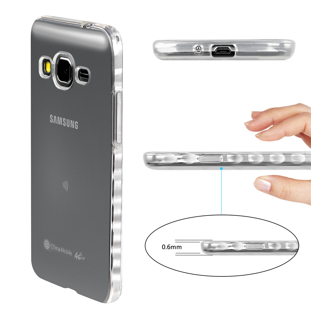 outlet store c3fd4 36bda US $2.21 26% OFF|Non slip Soft Cases For Samsung Galaxy Grand Prime 4G LTE  SM G531F Duos SM G531F/DS Transparent TPU Silicon Covers Full Housing-in ...