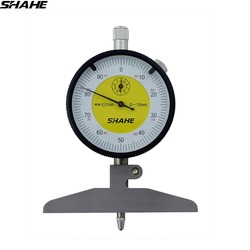 0-100 mm dial depth gage with harden alloy measuring head dial gauges depth indicator measuring instrument
