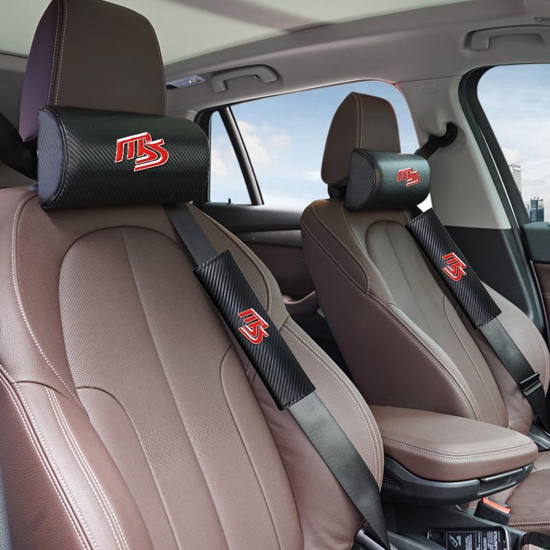 Car Neck Pillow Headrest Memory Foam Fabric Car Seat Neck Support Pillow For Mazda MS Mazda 2 Mazda 3 Mazda 6 M5 Cx 5