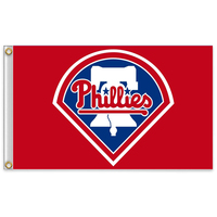 Philadelphia Phillies Major League USA Baseball MLB Team Banner 3x5ft 100D High Quality Polyester