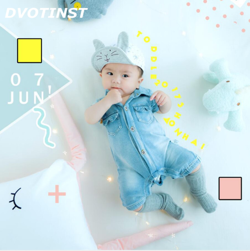 все цены на Dvotinst Baby Photography Props Cute Theme Background Costume Clothes Doll Set Fotografia Accessory Studio Shooting Photo Props