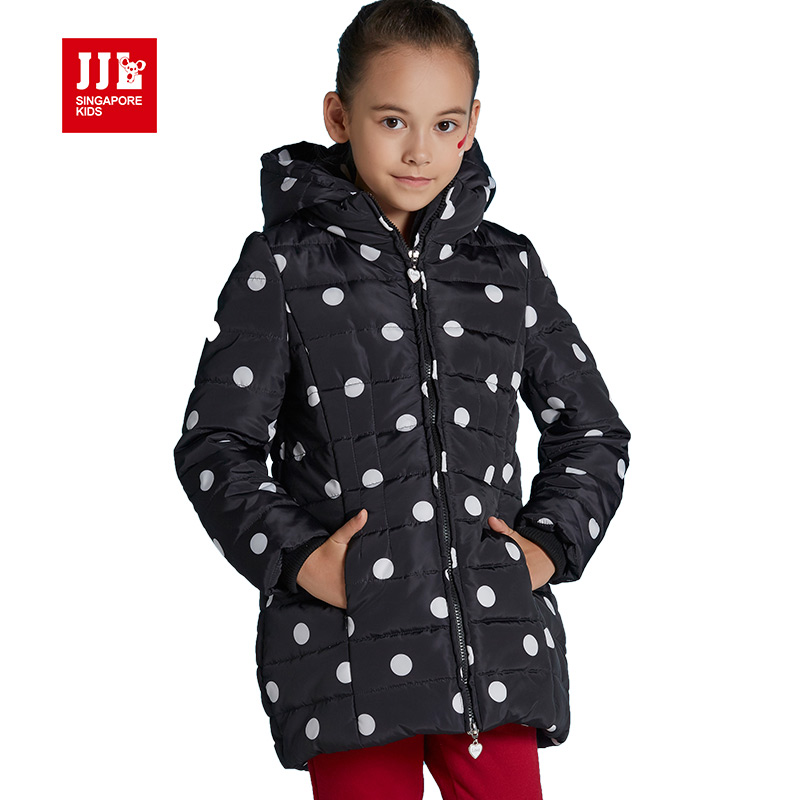 ФОТО brand girls down parka kids down coats children outwear outdoor kids jacket girls down jackets 2016 girls clothing